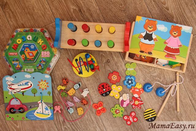 Игрушки в дорогу ребенку