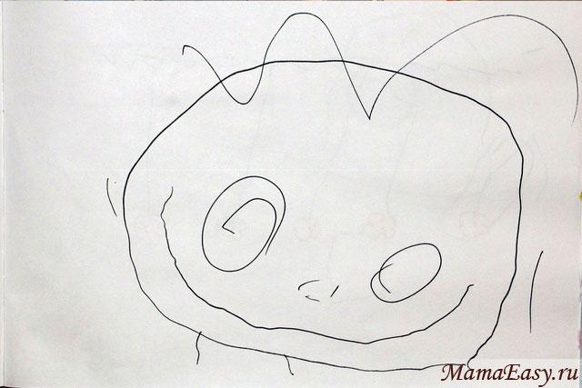 Рисование с ребенком 2 года