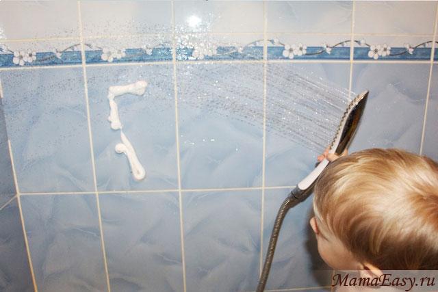 Игры с пеной для бритья