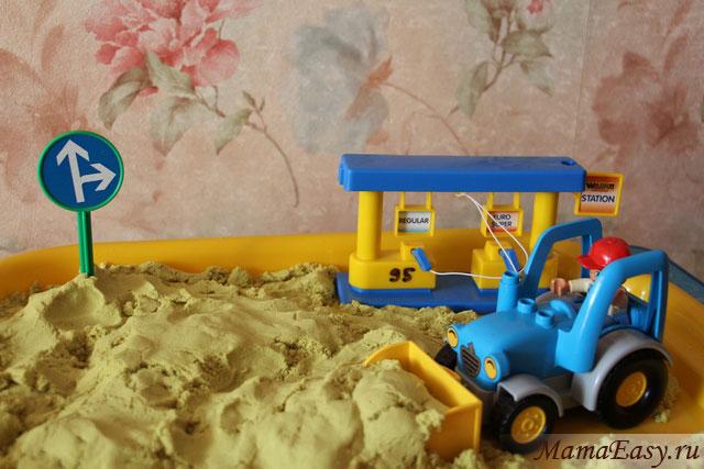 Сюжетные игры с песком