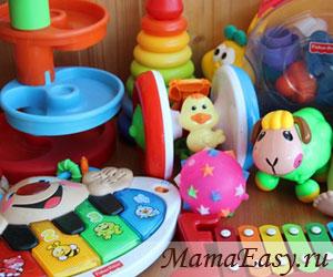Игрушки для детей от 6 месяцев до 1 года